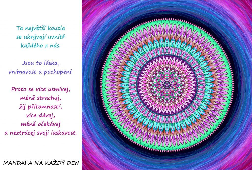 Mandala Láska, vnímavost a pochopení