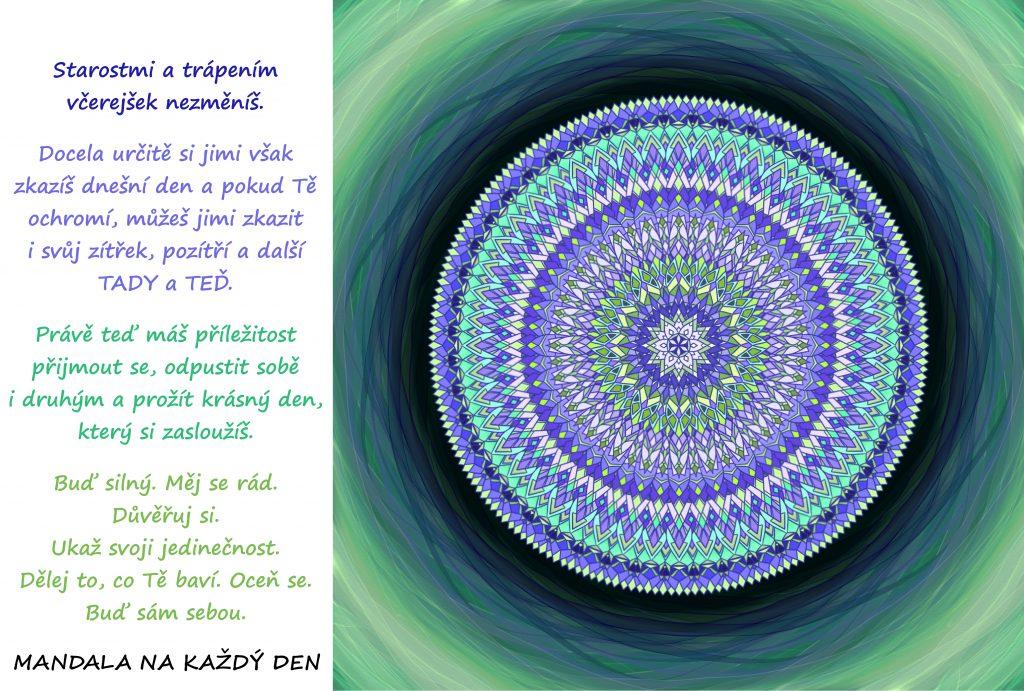 Mandala Buď silný a nenech se ochromit
