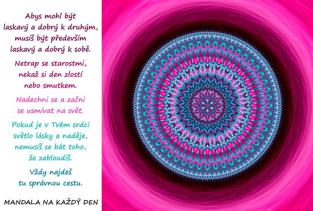 Mandala Laskavost a naděje