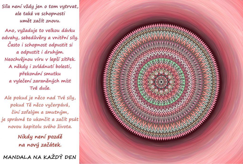Mandala Umění začít znovu
