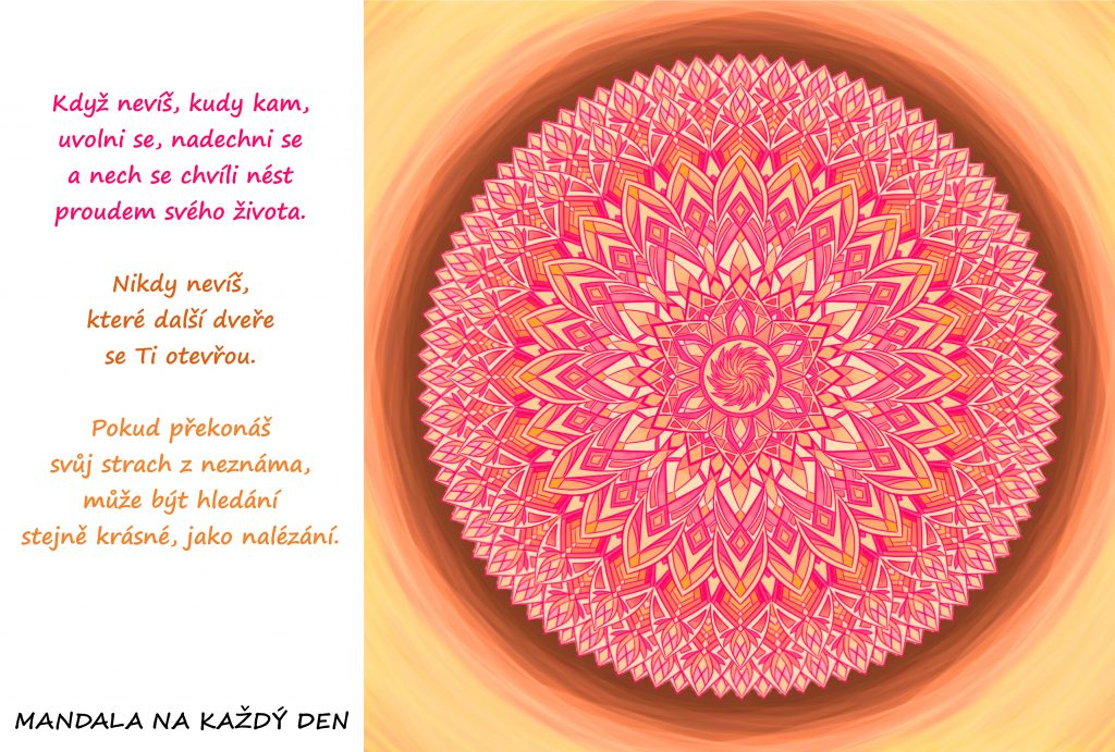 Mandala Překonej svůj strach