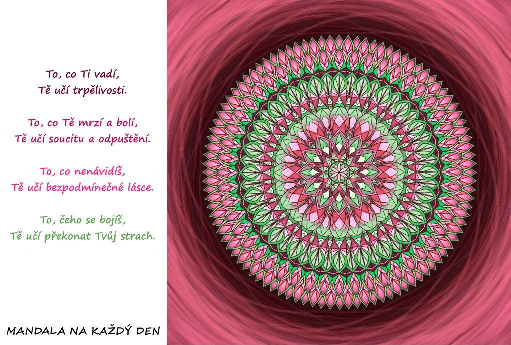 Mandala Život je největší učitel
