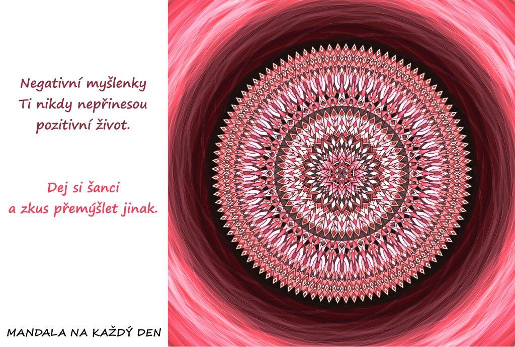 Mandala Dej si šanci žít pozitivní život