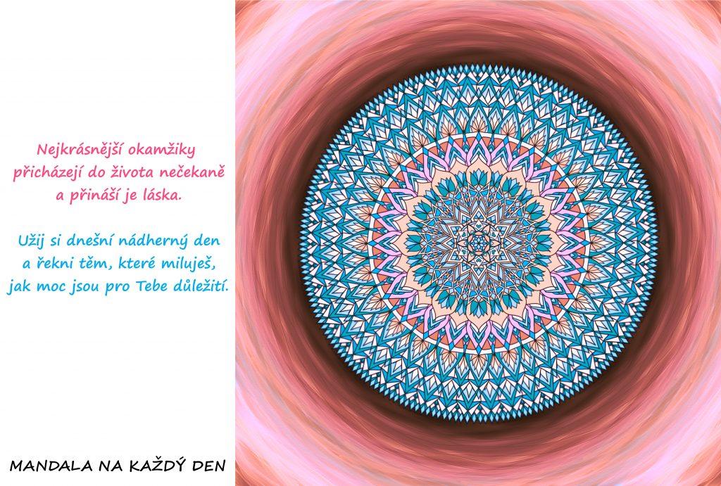 Mandala Nejkrásnější okamžiky přináší láska