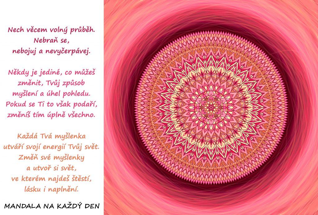 Mandala Nauč se ovládat své myšlenky