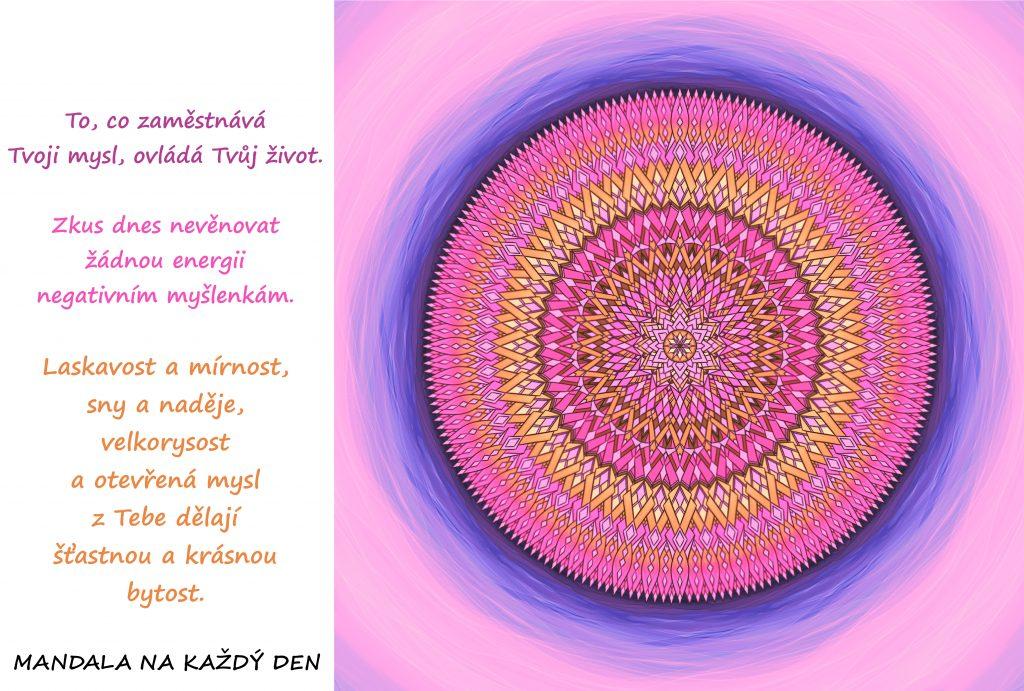 Mandala Udrž si svoji laskavost, mírnost, sny a naděje