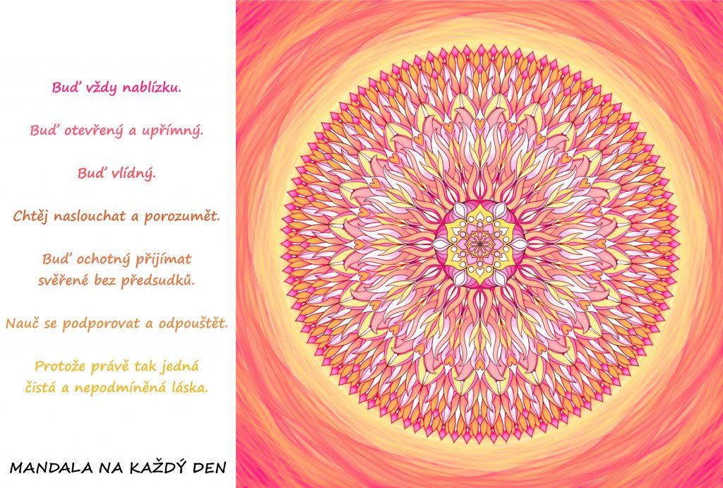 Mandala Tak jedná čistá a nepodmíněná láska