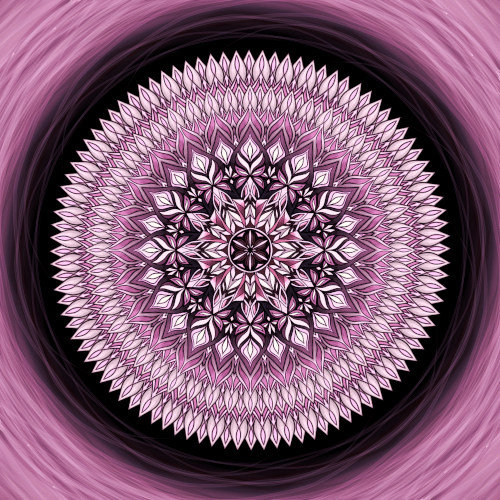 Mandala Nevzdávej se svých snů