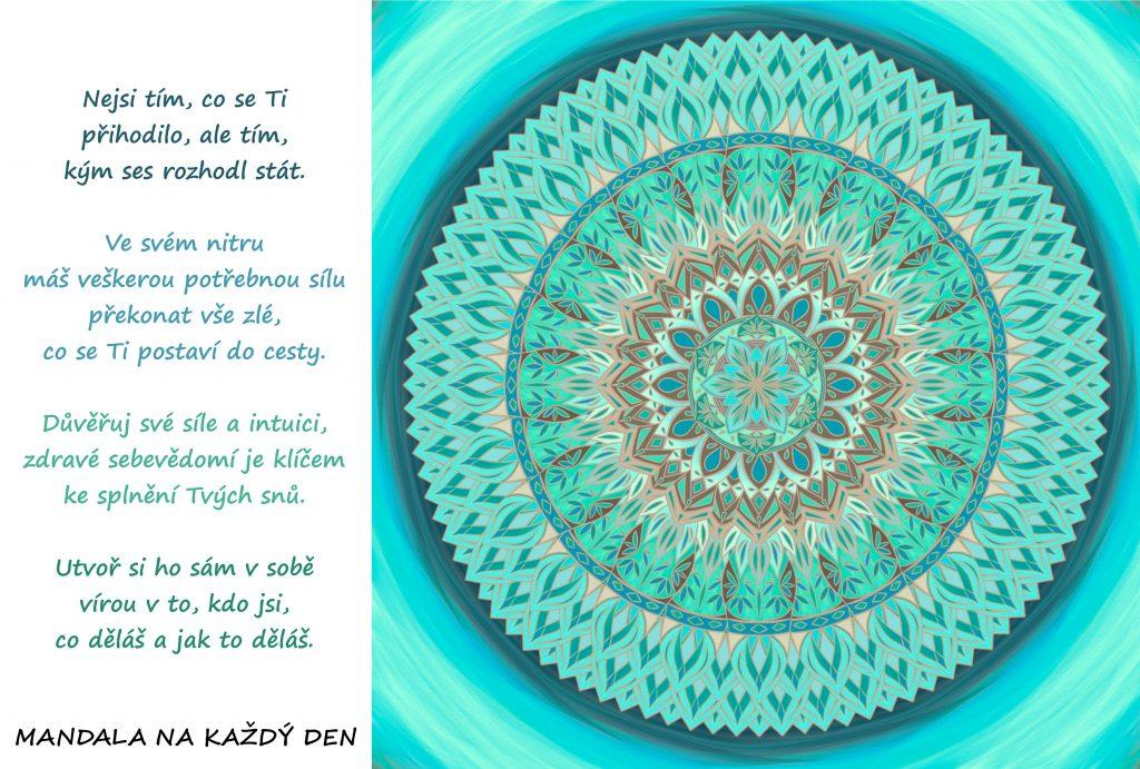 Mandala Utvoř si zdravé sebevědomí