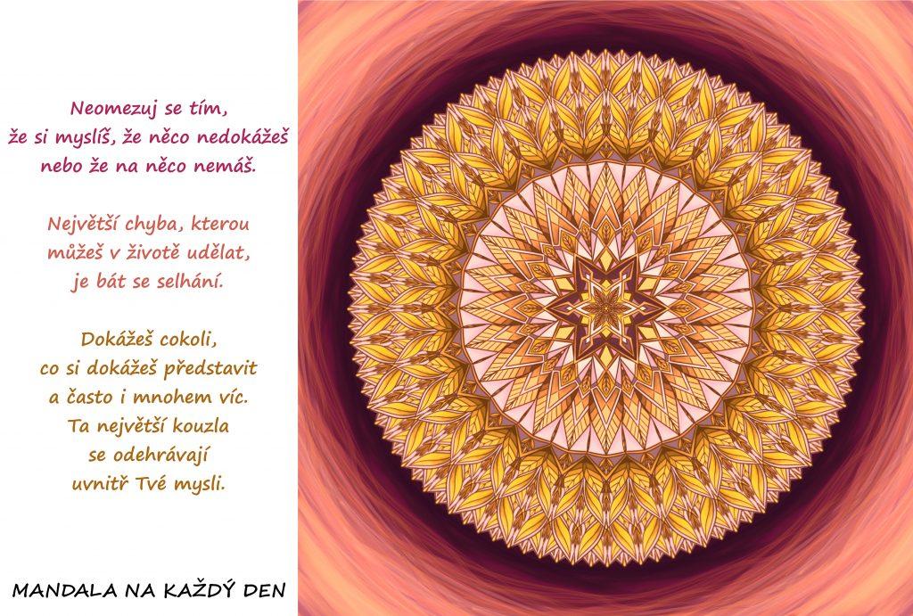 Mandala Kouzla Tvé mysli