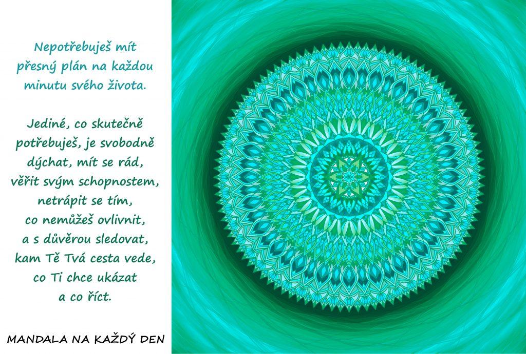 Mandala Uvěř svým schopnostem a své cestě