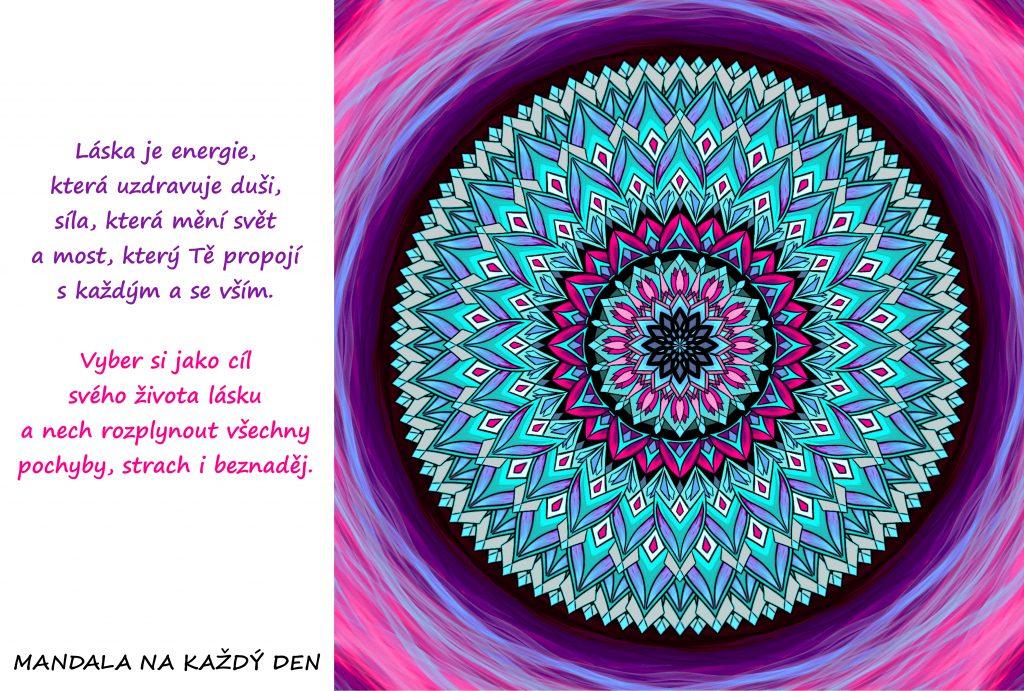 Mandala Láska je uzdravující energie
