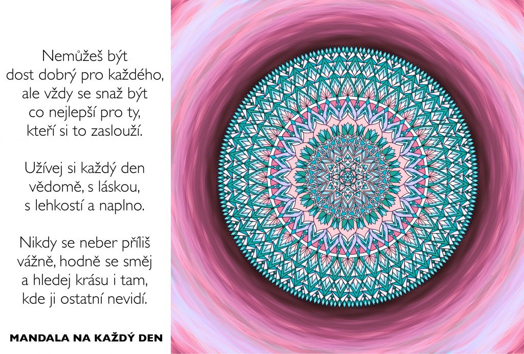 Mandala Prožívej svůj život a vztahy naplno