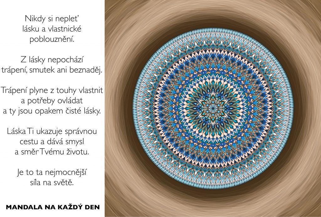 Mandala Kouzlo čisté a nepodmíněné lásky