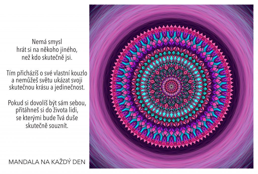 Mandala Dovol si být sám sebou