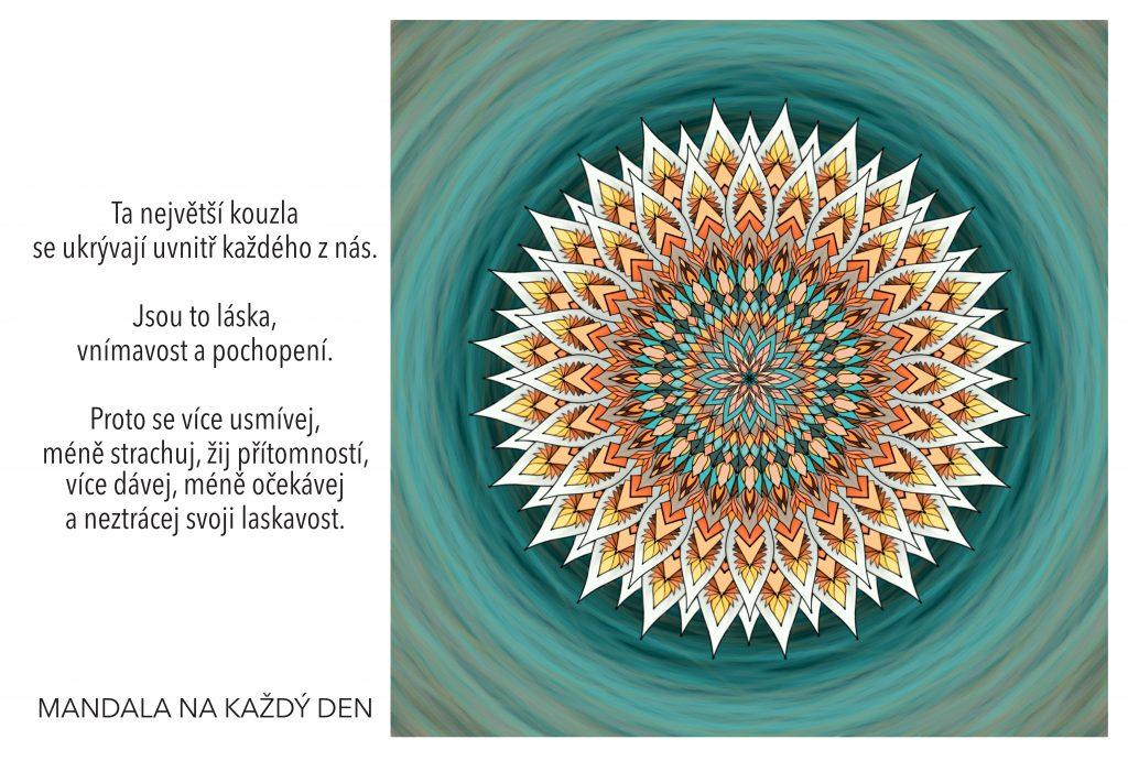Mandala Síla lásky, vnímavosti a pochopení