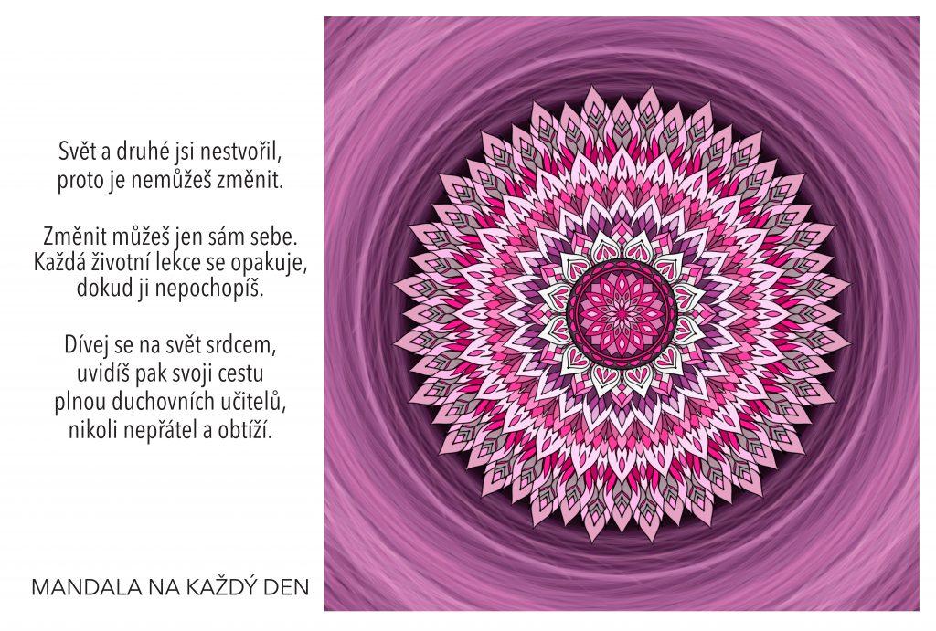 Mandala Tvá cesta je plná duchovních učitelů