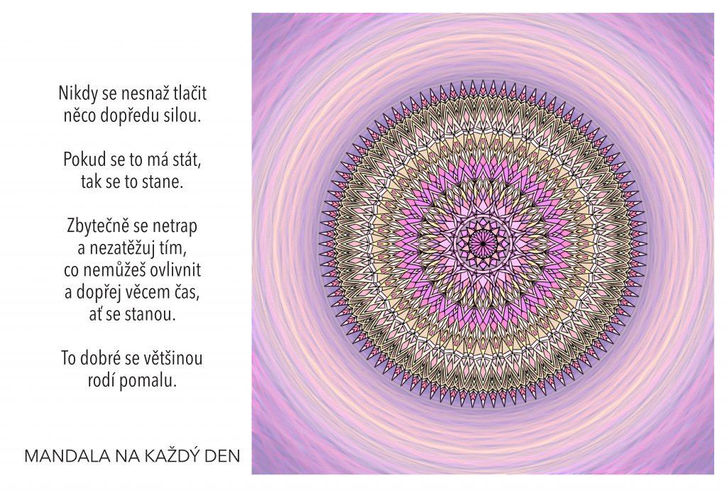 Mandala Netrap se tím, co nemůžeš ovlivnit