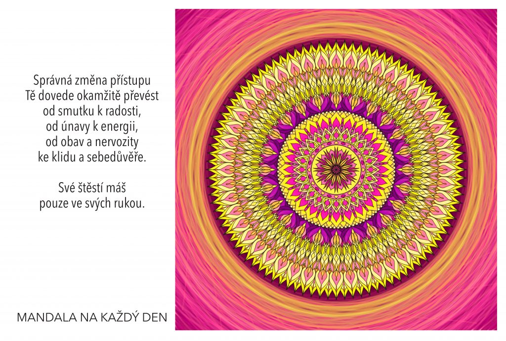 Mandala Změň svůj přístup