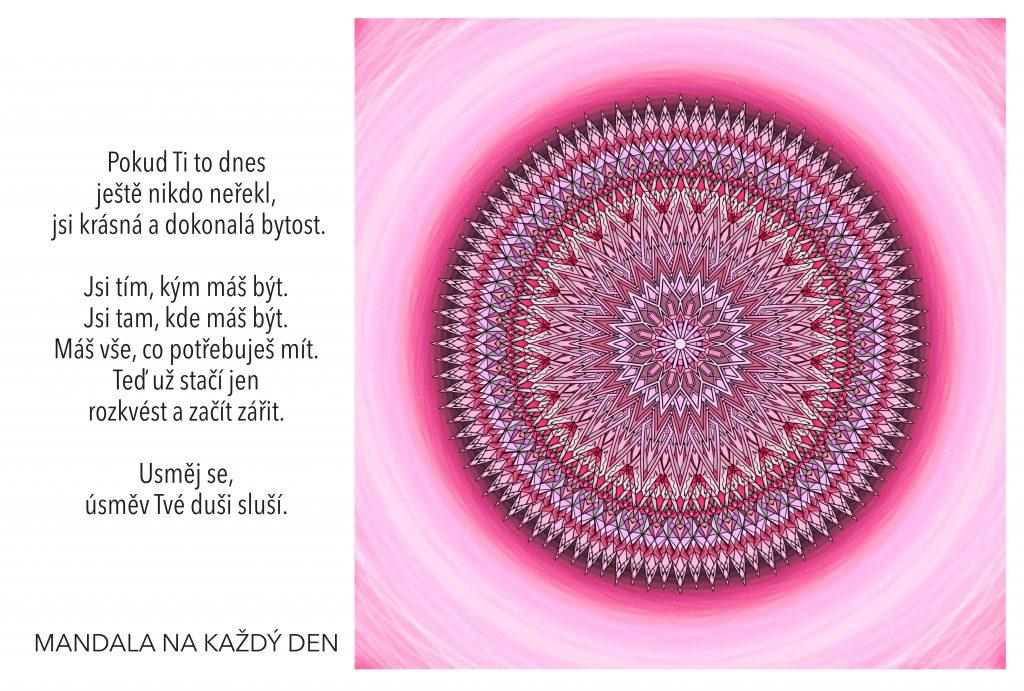 Mandala Rozkvěť a začni zářit