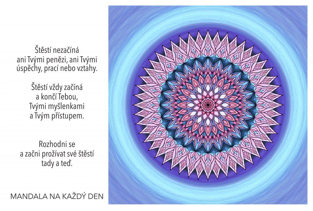 Mandala Tajemství skutečného štěstí