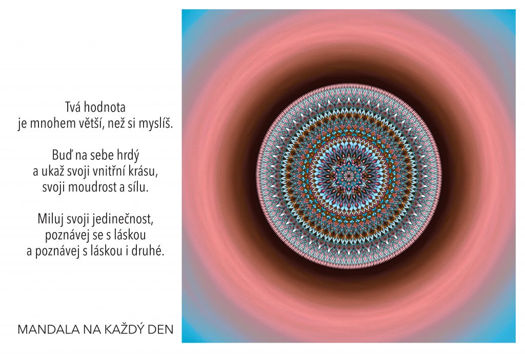 Mandala Poznávej s láskou