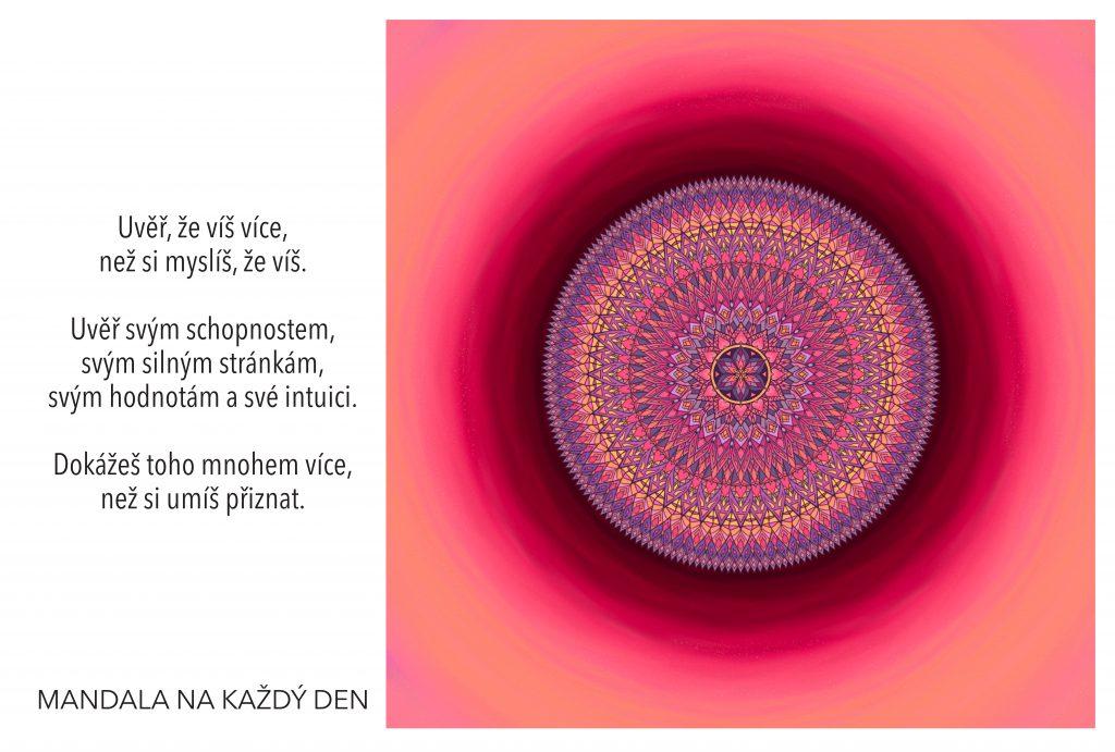 Mandala Začni si věřit