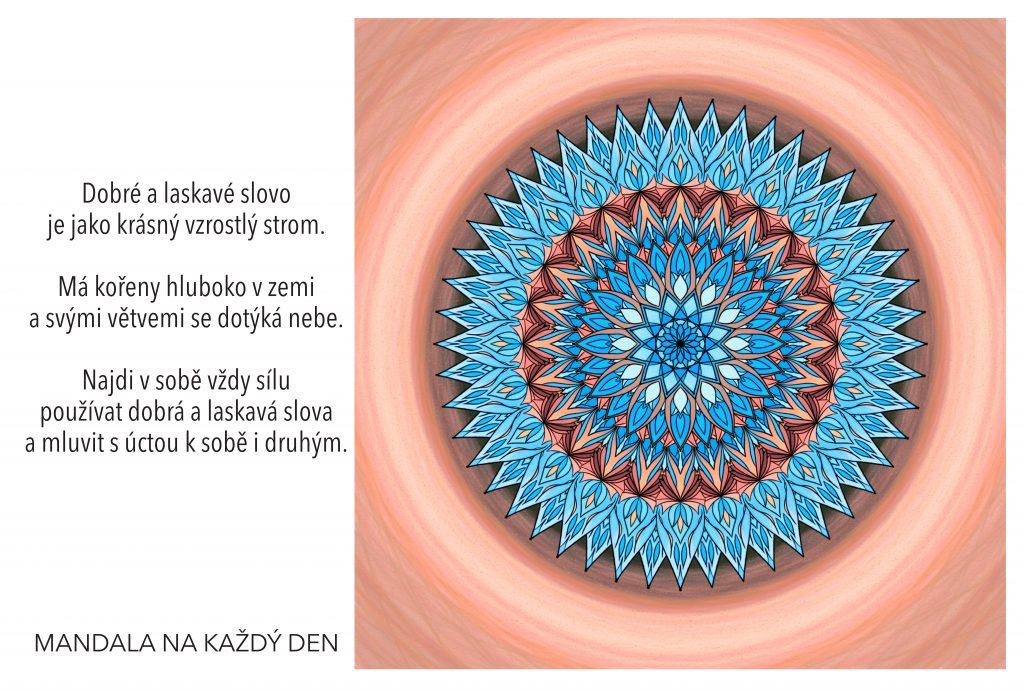 Mandala Pozitivní a laskavá komunikace