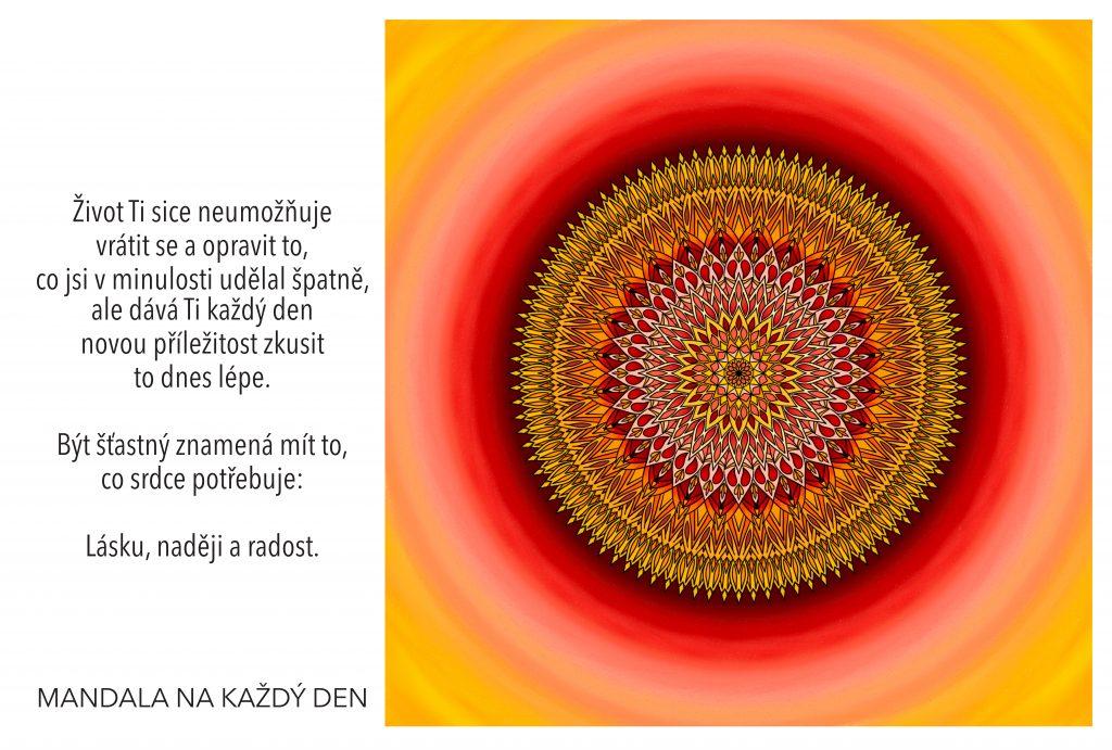 Mandala Každý den přináší novou šanci
