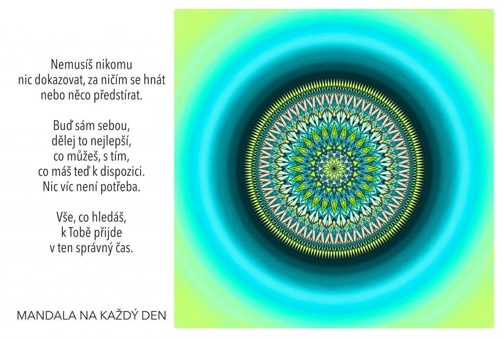 Mandala Uklidni svoji duši
