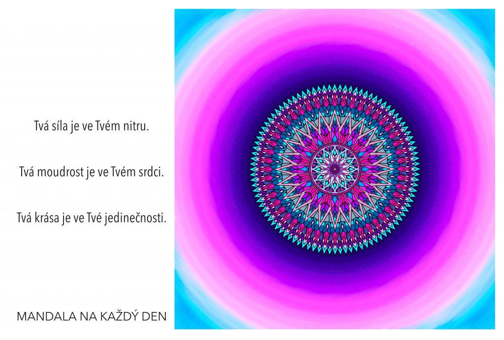 Mandala Tvá síla, moudrost a krása