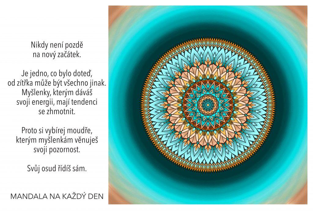 Mandala Svůj osud řídíš sám