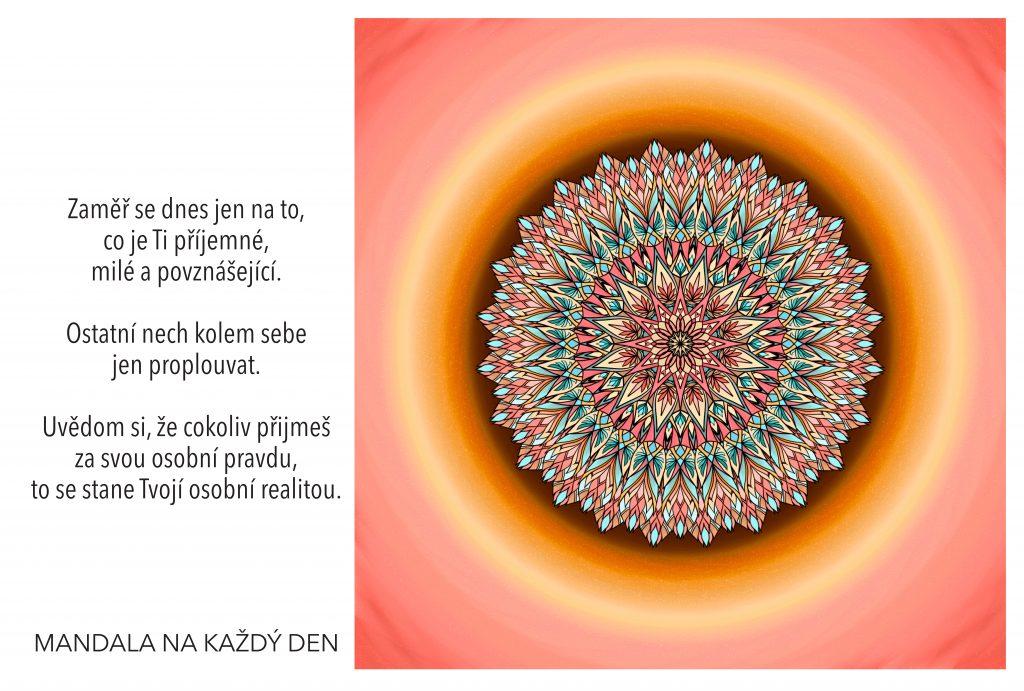 Mandala Nauč se ovlivnit svoji osobní realitu