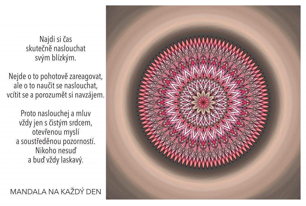 Mandala Naslouchání a porozumění