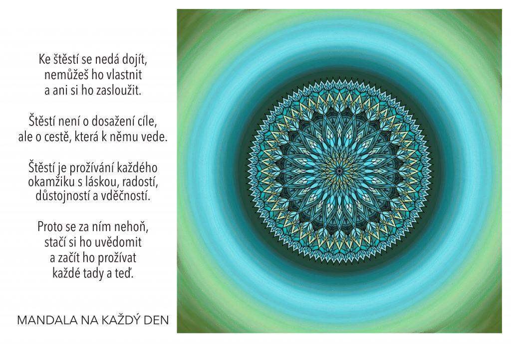 Mandala Nauč se vidět a prožívat štěstí