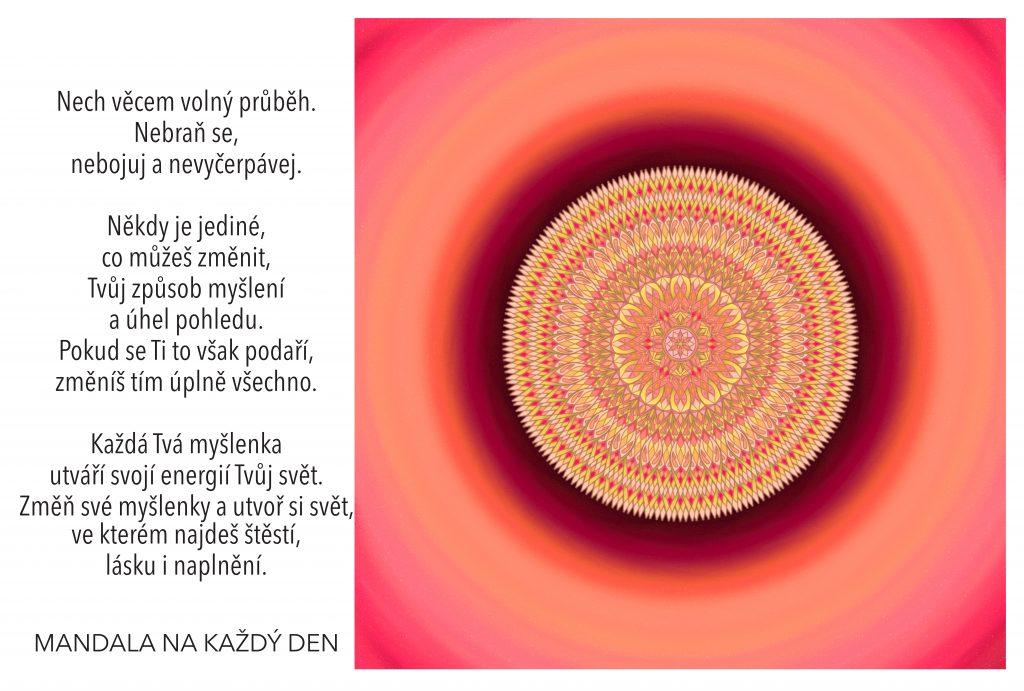 Mandala Nauč se ovládat své myšlení