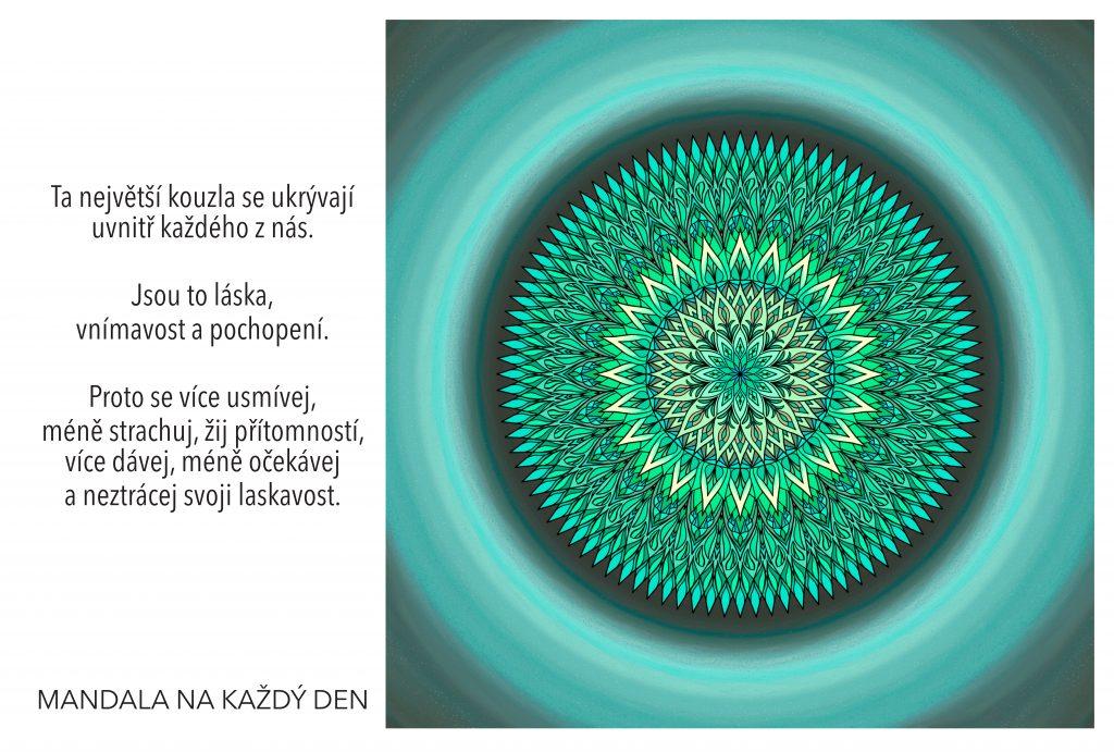 Mandala Kouzlo lásky, vnímavosti a pochopení
