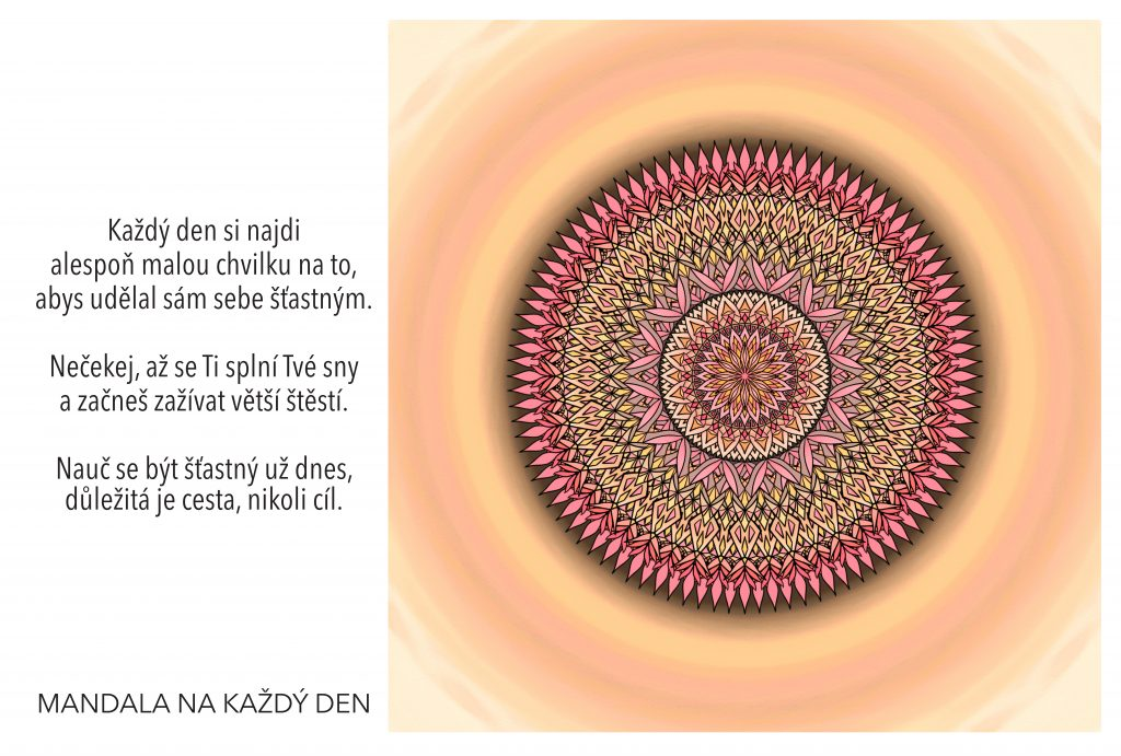 Mandala Umění být šťastný tady a teď