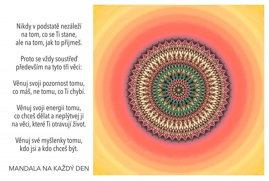 Mandala Síla myšlenek a Tvé pozornosti
