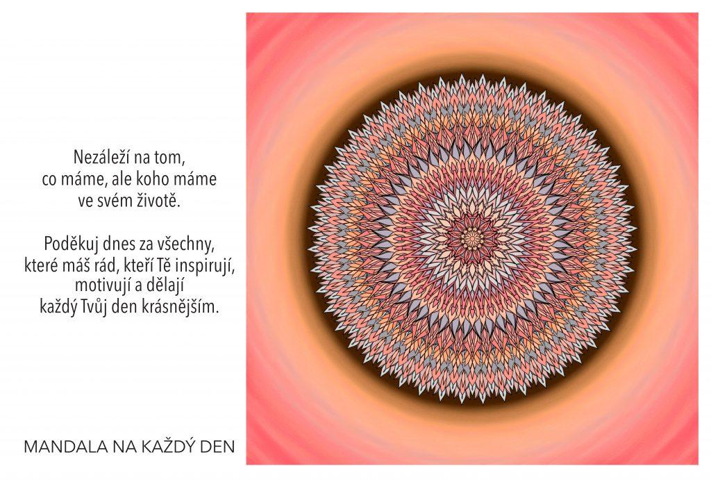 Mandala Inspirující a laskavé vztahy