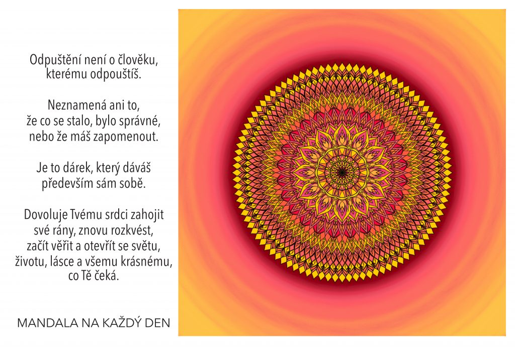 Mandala Síla ukrytá v odpuštění
