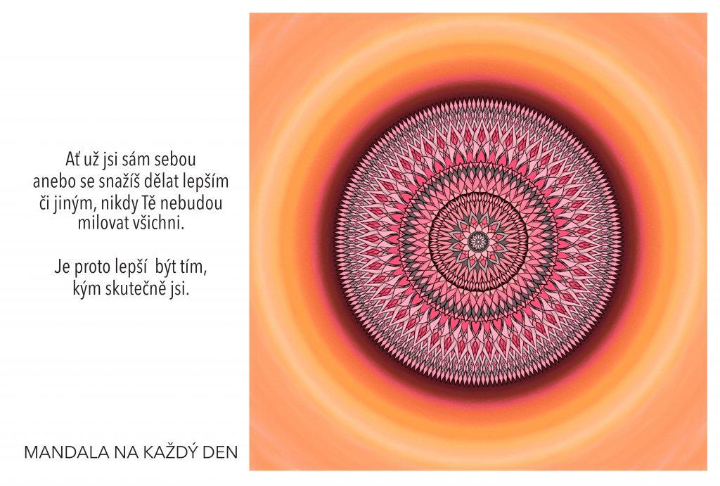 Mandala Buď tím, kdo skutečně jsi