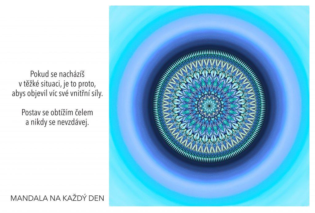 Mandala Najdi svoji vnitřní sílu