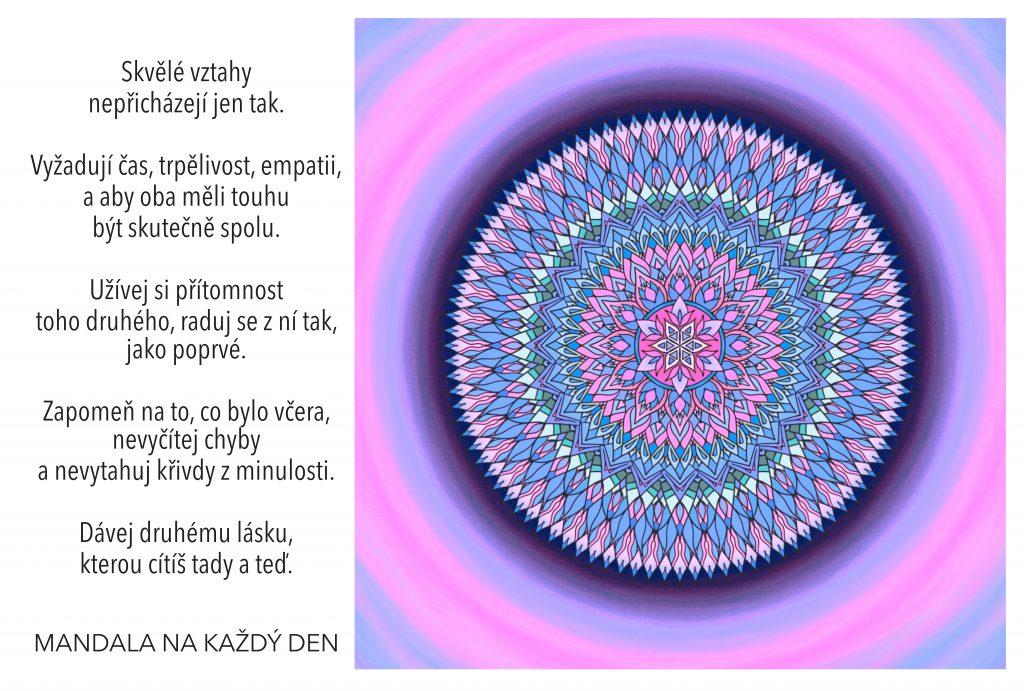 Mandala Pečuj s láskou o své vztahy
