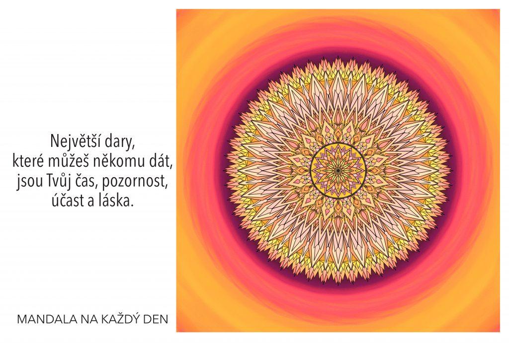 Mandala Síla největších darů
