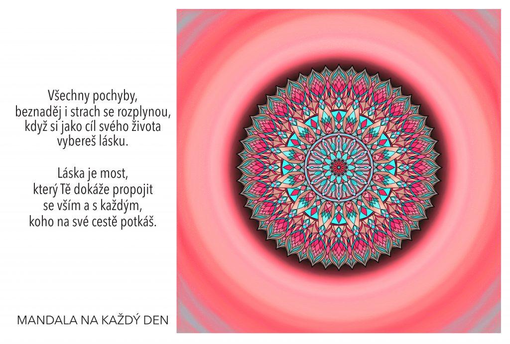 Mandala Vyber si lásku jako životní cíl
