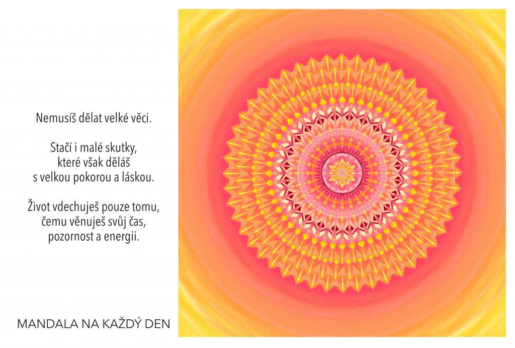Mandala Čas, energie a pozornost