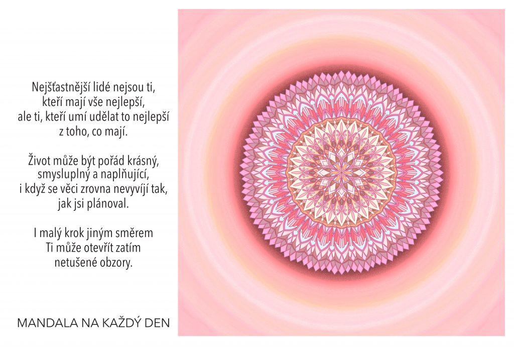 Mandala Vytvoř si svůj naplňující život
