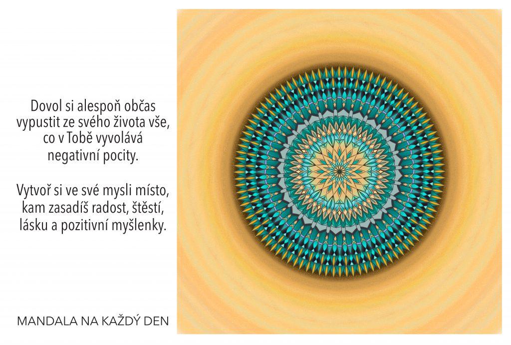 Mandala Vytvoř si v mysli místo pro štěstí a lásku