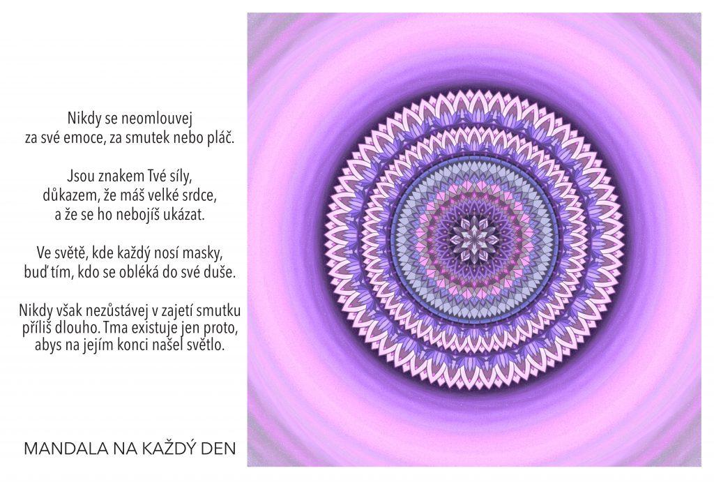 Mandala Neschovávej se za žádné masky